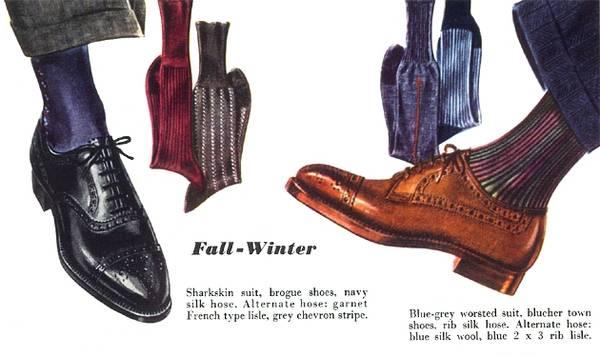 De belles paires de chaussettes.